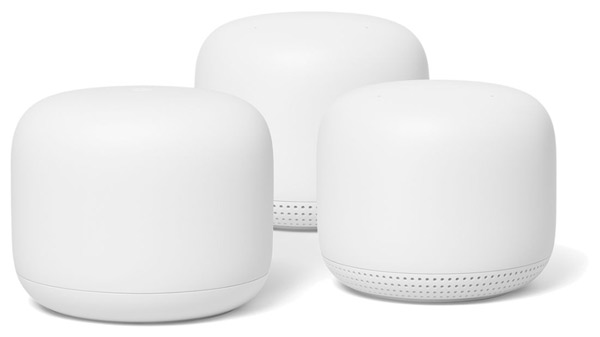Google Nest Wi-Fi Mesh System Router and 2 Points